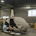 Полевой фотоотчет. Очередная сборка нового вертолета Robinson R44 инженерами «ХелиКо Групп»